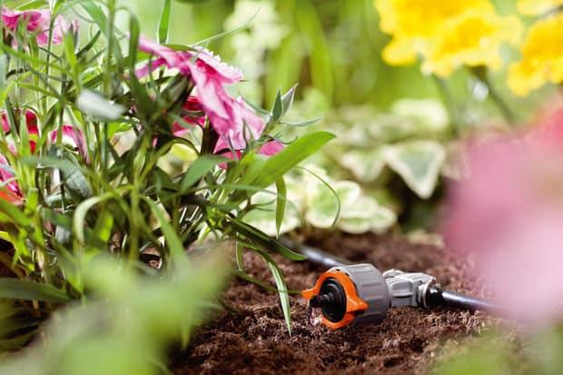 irrigazione goccia a goccia orto domestico
