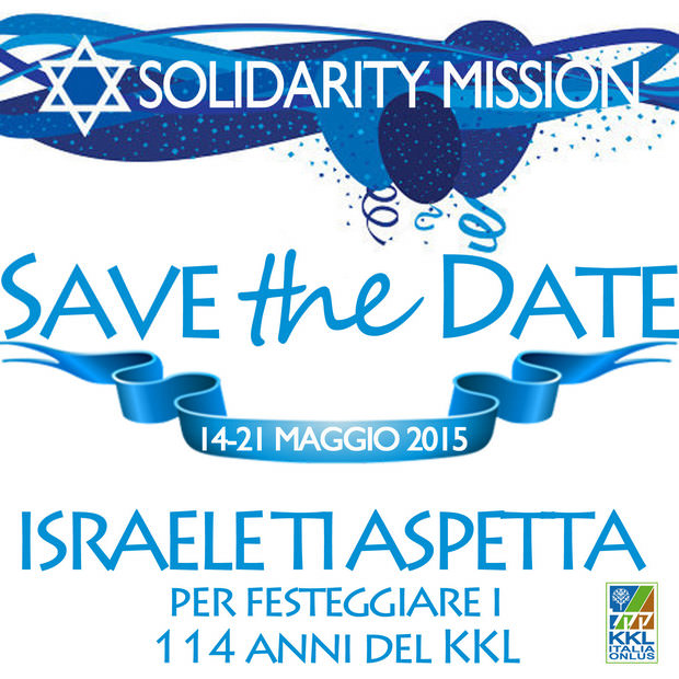Save the Date - Solidarity Mission