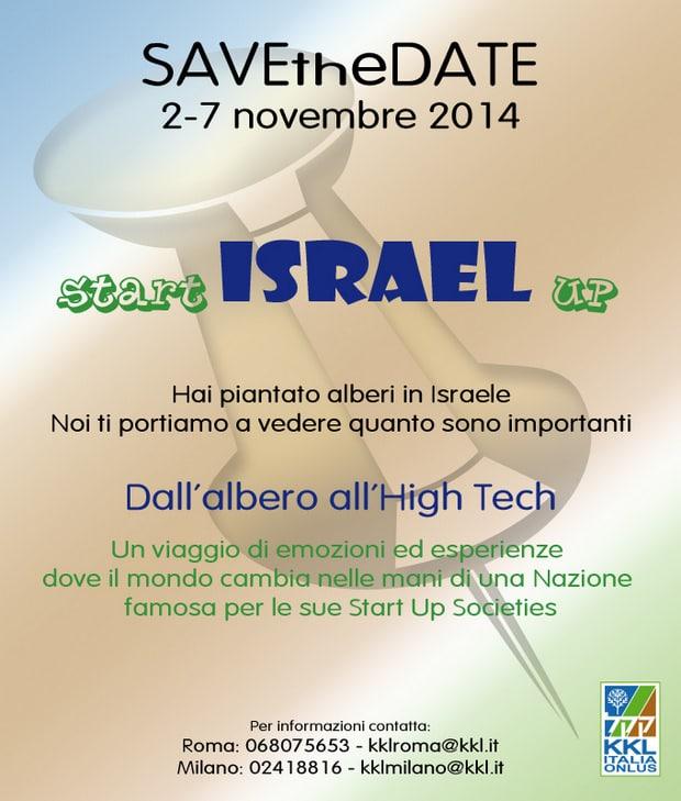 Save the date- israele-kkl italia onlus