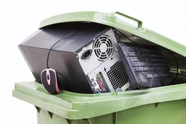 come smaltire rifiuti elettronici