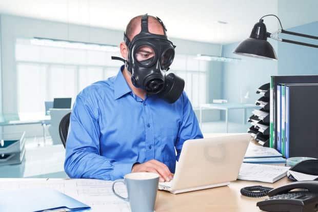 KKL | inquinamento ufficio